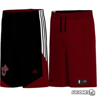 Nba Rev Miami HPS reversible short