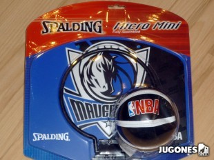 Mini canasta Spalding Dallas Mavericks