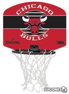 Mini Canasta Spalding Chicago Bulls