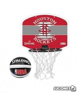 Mini Canasta Spalding Houston Rockets
