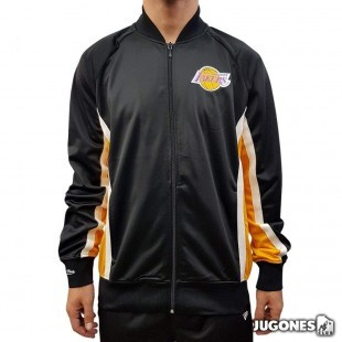 Championship Game Track Jacket Angeles Lakers