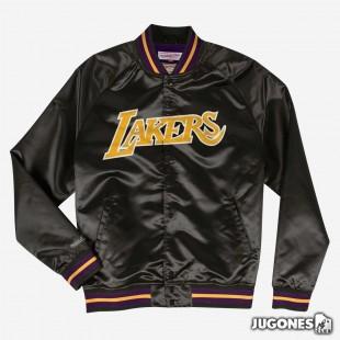Mitchell & Ness Angeles Lakers Lightweight Satin Jacket