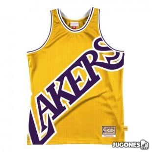 Big Face 2.0 Los Angeles Lakers Tee