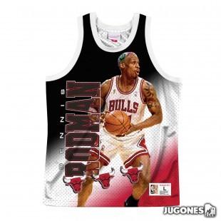 Camiseta Behind the Back Chicago Bulls Dennis Rodman