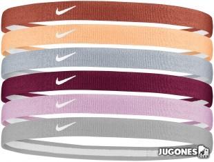 6pk 2.0 Nike Hairbands