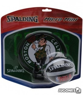 Mini canasta Spalding Boston Celtics