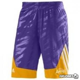 Reversible Lakers Short