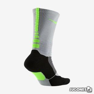 Hyper Elite basketball sock