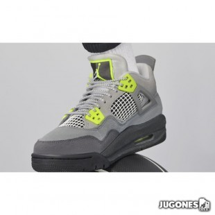 Jordan 4 Retro (GS) Grey Volt