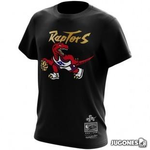 Camiseta Raptors Gold Dribble