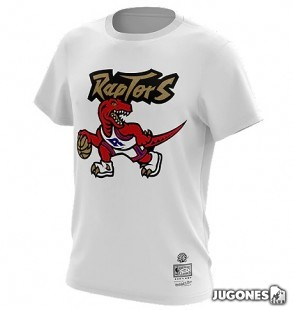 Raptors Gold Dribble tee