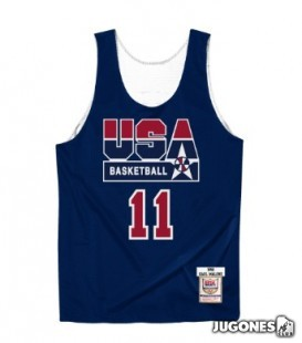 Authentic Reversible Practice Jersey Karl Malone
