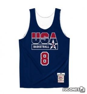 Authentic Reversible Practice Jersey Scottie Pippen