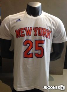 Camiseta manga corta Rose Knicks