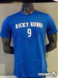 Camiseta Nickname Ricky Rubio