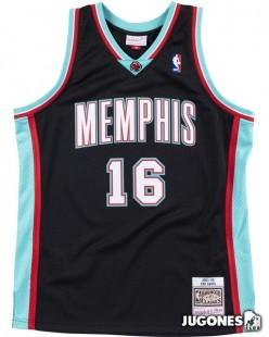 Camiseta Memphis Grizzlies Pau Gasol 2001-2002