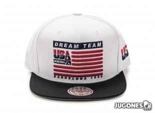 Usa Team Flag Snapback 1992