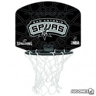 Mini Canasta Spalding San Antonio Spurs