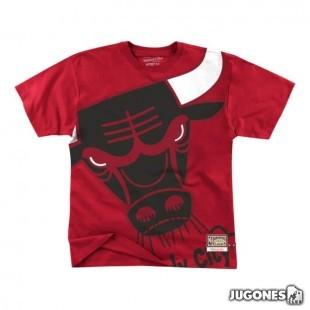 Big Face Tee Chicago Bulls