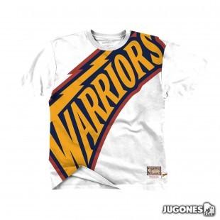 Big Face Tee Golden State Warriors