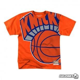 Big Face Tee New York Knicks