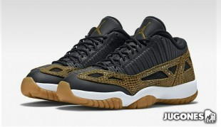 Jordan 11 Retro Low IE `Croc`