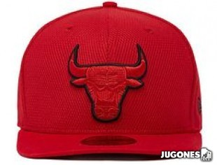 New Era Tonal Bulls Jr hat