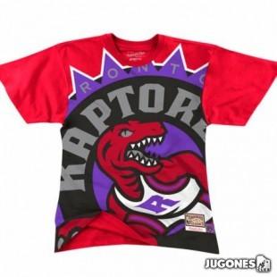 Big Face Tee Toronto Raptors