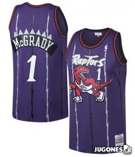 Camiseta Toronto Raptors Tracy McGrady Jr 1998-1999