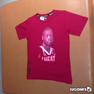 Camiseta GFX Player Wade