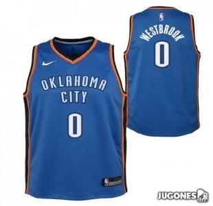 Camiseta Oklahoma Russell Westbrookl Jr