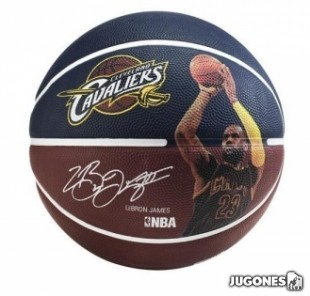 Balon Spalding NBA player Lebron James Talla 7