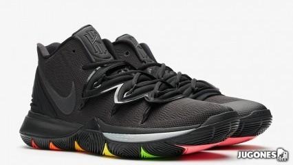 Kyrie 5  rainbow soles