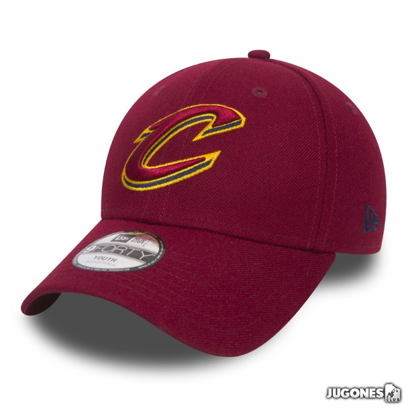 c99463b4330 New Era 9Forty Cleveland Cavaliers Jr Cap