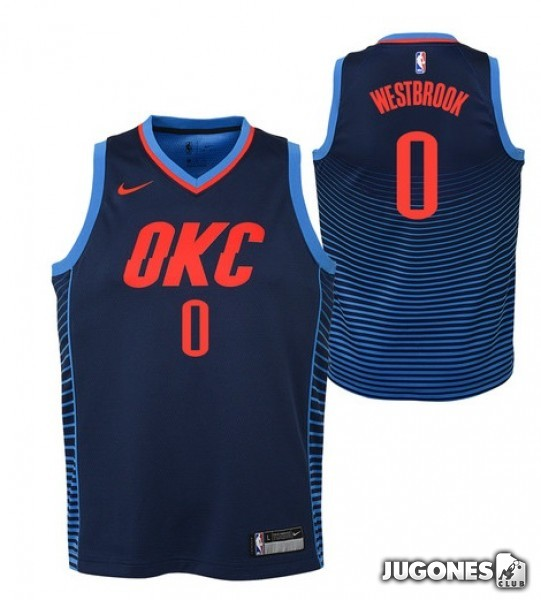 a693d05bf72 NBA Oklahoma City Thunder T-Shirt `Rusell Westbrook`