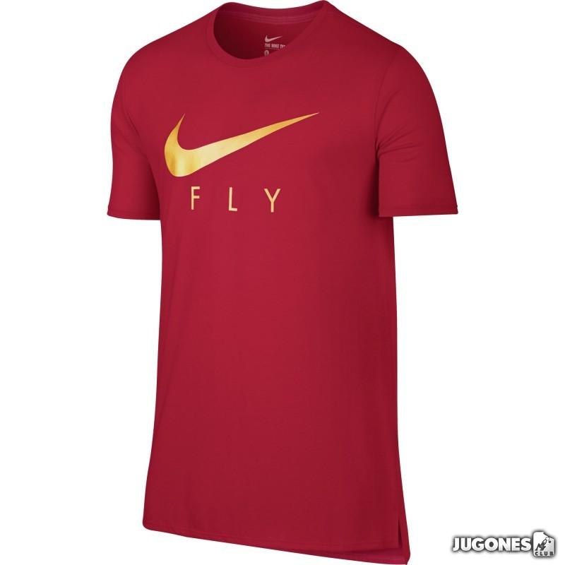 Árbol Duque Fuera de  camiseta nike fly droptail