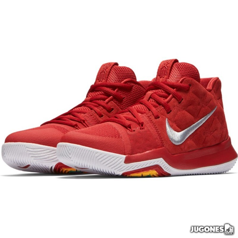 f43672e825 Kyrie 3 (GS)Red Suede