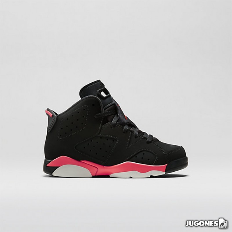 new style 21d15 d578e Nike Air Jordan 6 Infrared (PS)