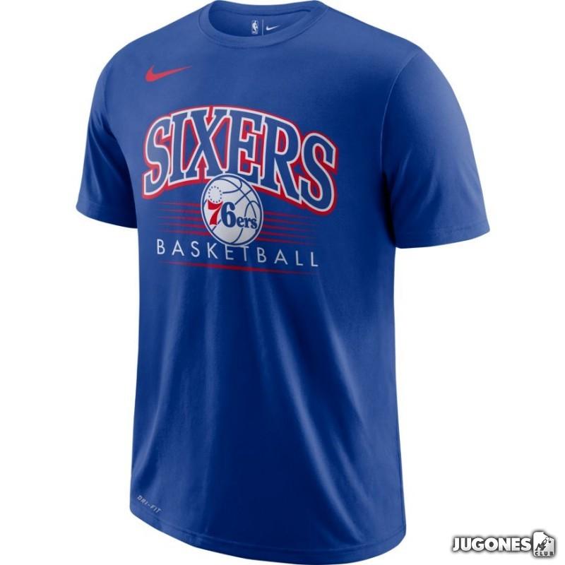 48ec8614ee77 Nike Philadelphia 76ERS t-shirt