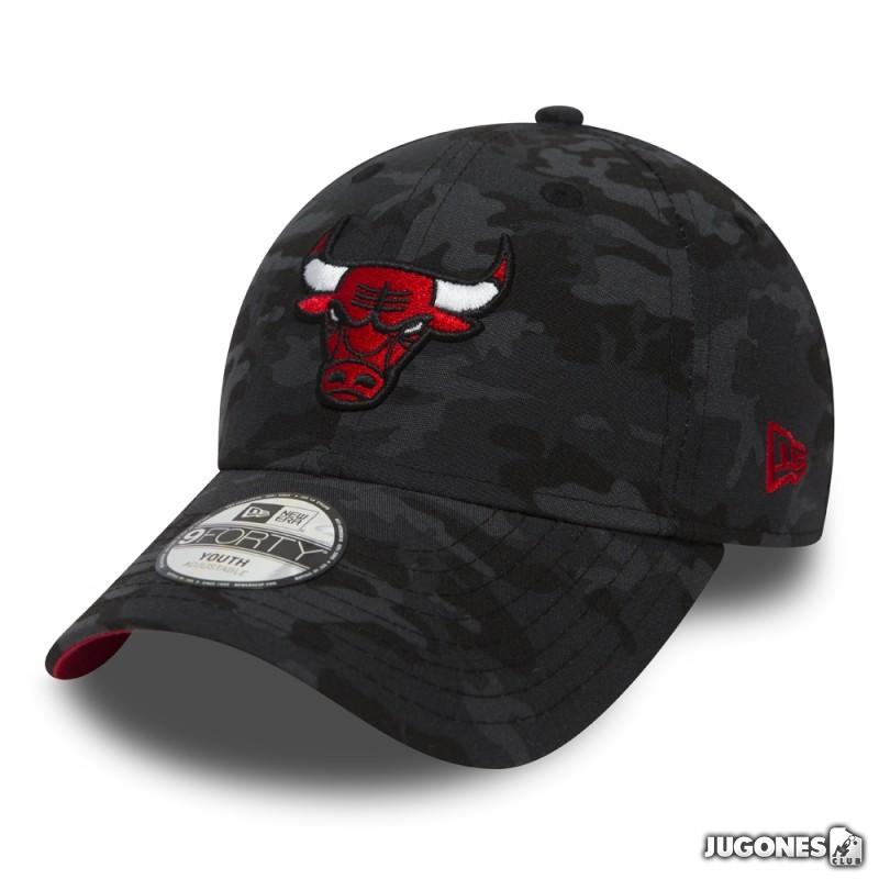 cd46a18eb5d New Era Cap Chicago Bulls Camo Jr