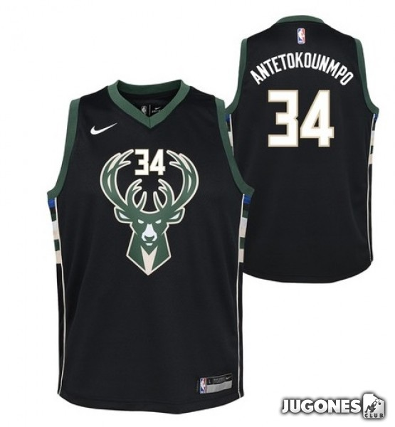 5e678e1f0a8 NBA Milwaukee Bucks T-shirt `Giannis Antetokounmpo`