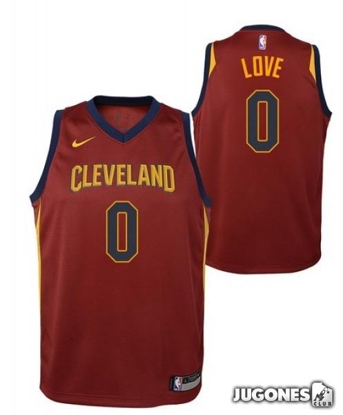 wholesale dealer 08b49 74c6e Cleveland Cavaliers NBA T-Shirt Kevin Love