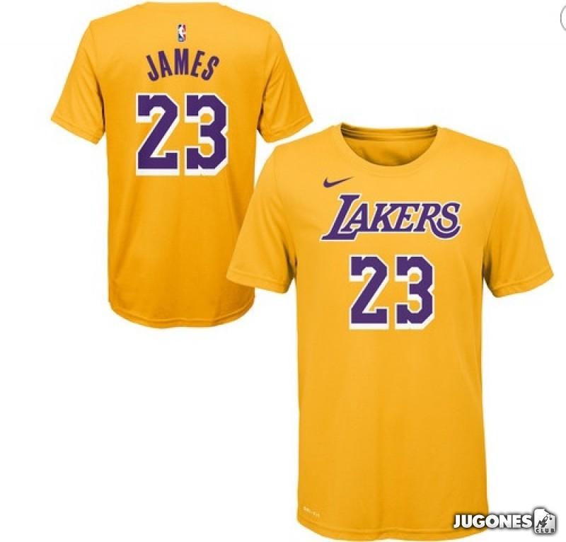 88e2d3778c Camiseta Lebron James Lakers