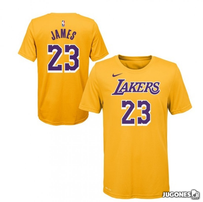 2d71905b6 Camiseta Lebron James Lakers
