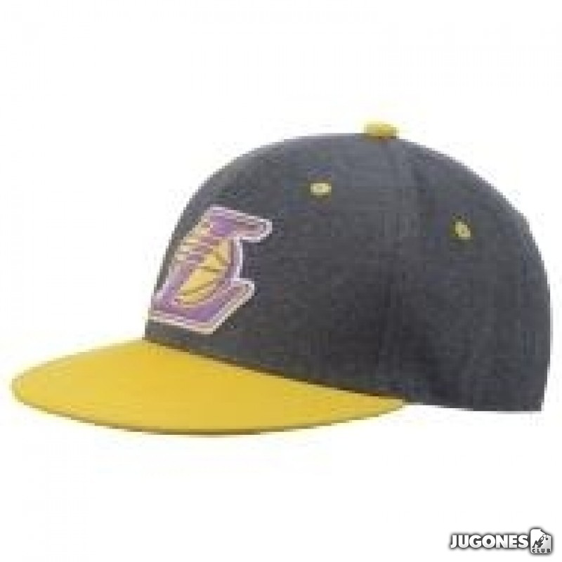 Adidas Lakers Fitted hat 4acf672a9