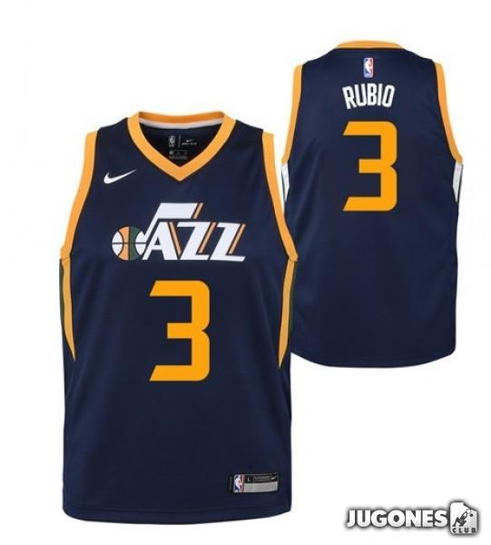 NBA Utah Jazz T-Shirt `Ricky Rubio` 7e0e08640b6e