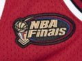 Authentic Jersey Chicago Bulls Road Finals 1997-98 Michael Jordan