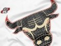 Camiseta Gold Logo Michael Jordan Bulls Blanco