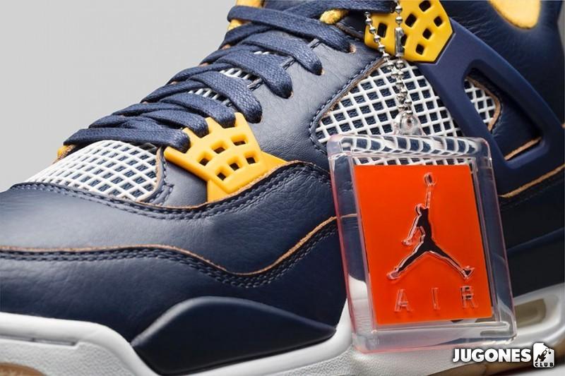 Nike Air Jordan 4 Dunk From above b1eba72915