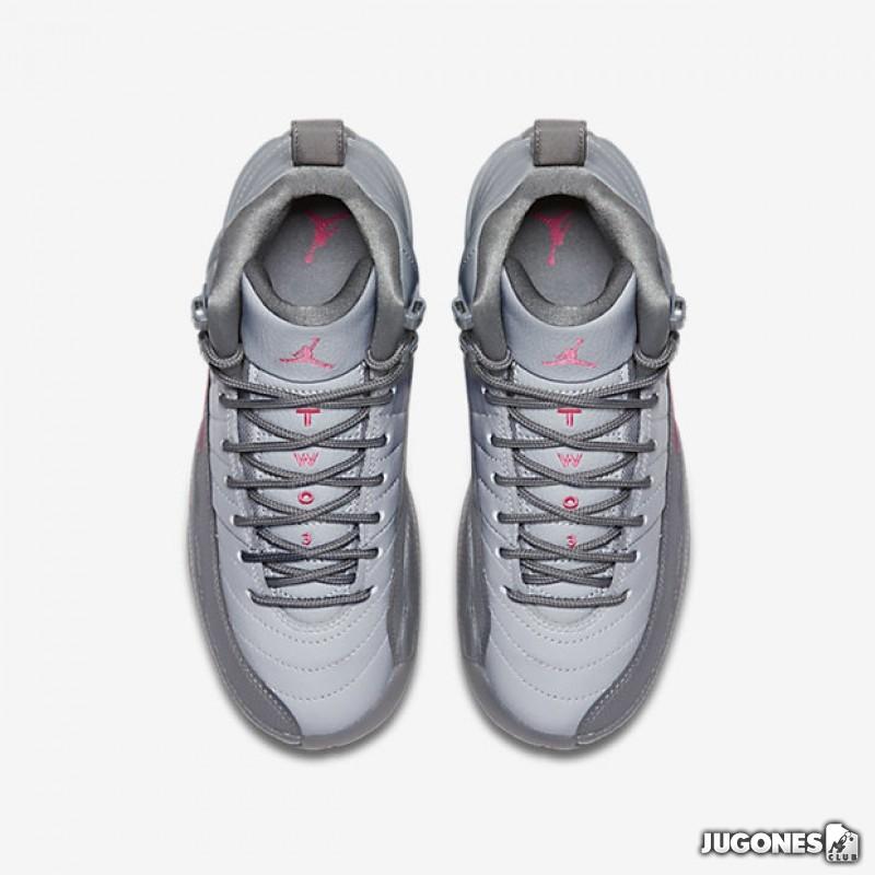 b6f2bba41296 ... Air Jordan 12 Retro `Wolf Grey Vivid Pink` GS ...